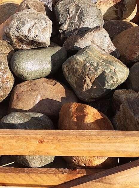 Boulders 200 - 300mm for Garden Designs | Welsh Slate Water Features