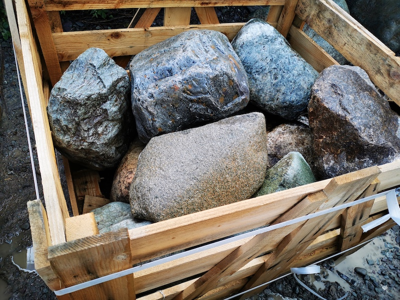 Boulders crate