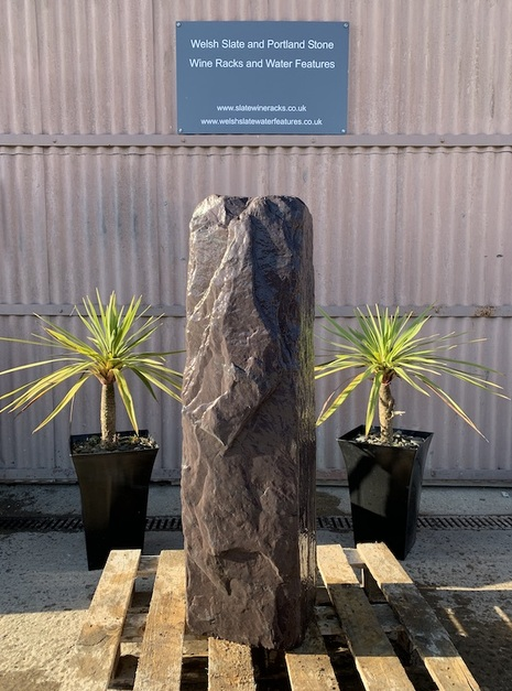 Drilled Slate Monolith