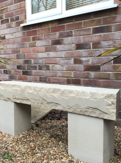 Portland Stone Bench
