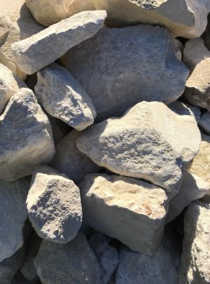 Portland Stone Rockery Pieces