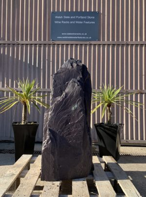 Slate Monolith Garden Feature