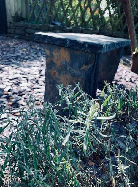 Welsh Slate Bench Customer 01 | Welsh Slate Water Features