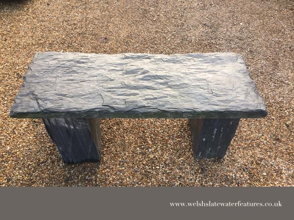 Welsh Slate Bench