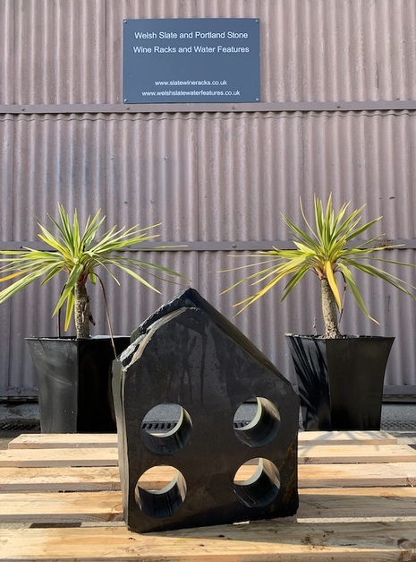 WFWR2 water feature wine rack | Welsh Slate Water Features