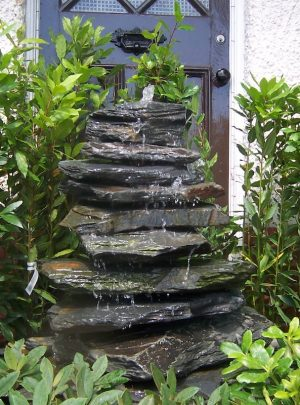 1200mm Slate Pyramid Water Feature