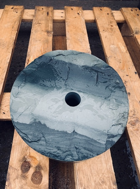 Slate Monolith SM22 4 | Welsh Slate Water Features