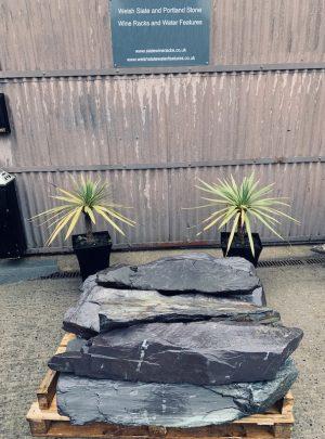 slate monoliths undrilled