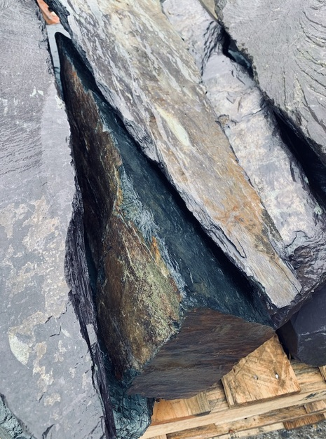 Slate Monoliths Undrilled SMU4 4 | Welsh Slate Water Features