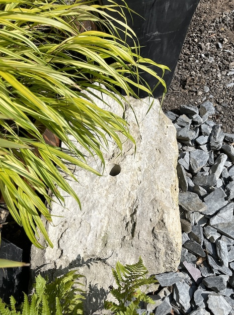 Stone Boulder SB13 Water Feature | Welsh Slate Water Features 03