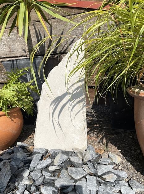 Stone Monolith SM56 Standing Stone | Welsh Slate Water Features 04