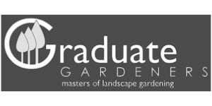 Graduate Gardeners Logo B+W | Welsh Slate Water Features