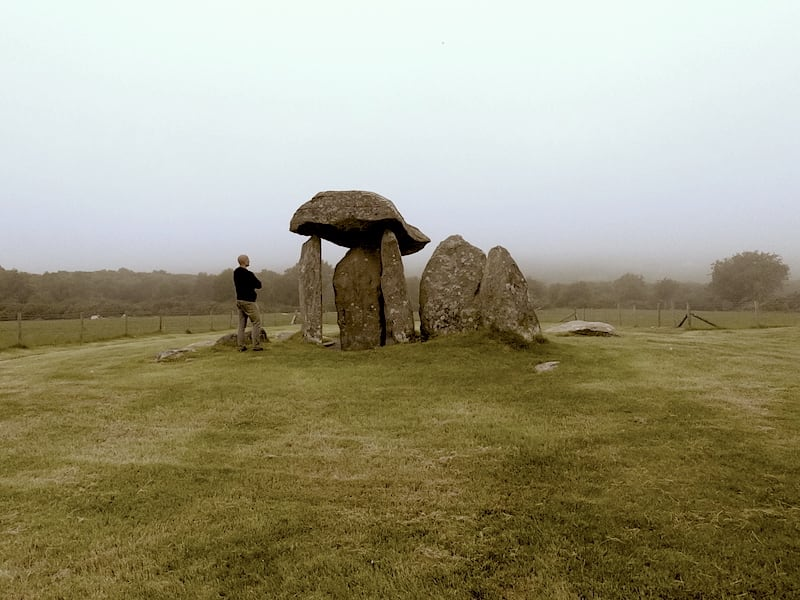 Pentre Ifan Burial Chamber | Welsh Slate Water Features 01