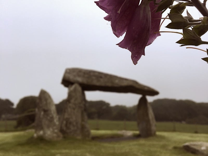 Pentre Ifan Burial Chamber | Welsh Slate Water Features 02