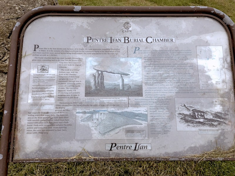 Pentre Ifan Burial Chamber   Welsh Slate Water Features 03