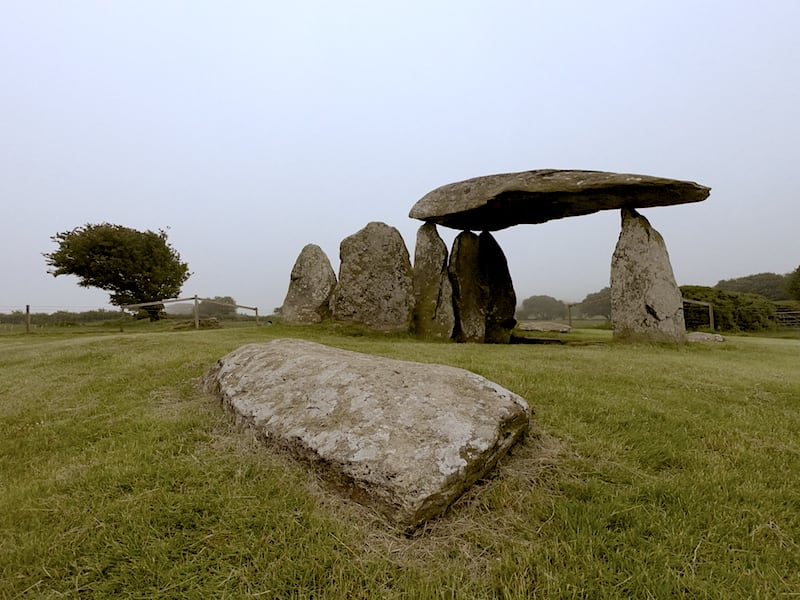 Pentre Ifan Burial Chamber | Welsh Slate Water Features 05