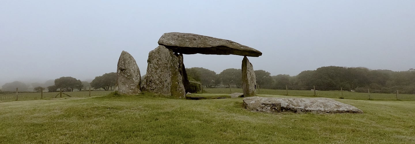 Pentre Ifan Burial Chamber   Welsh Slate Water Features