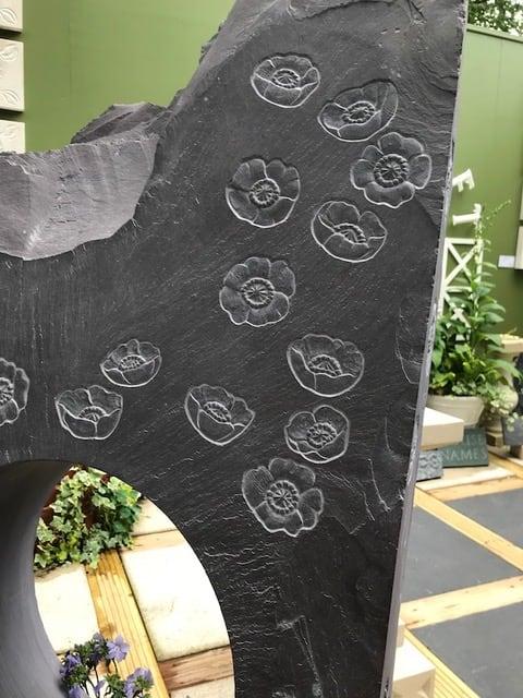 RHS Chelsea Flower Show Poppy Slate 1