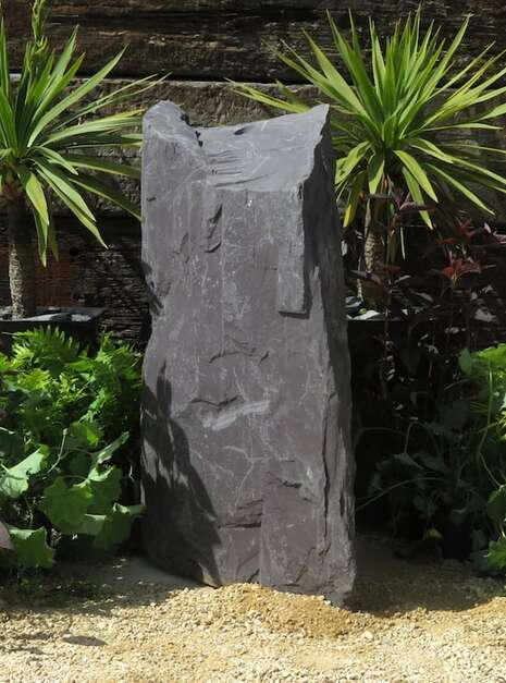 Slate Monolith SM60 | Welsh Slate Water Features 03