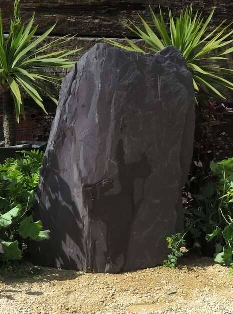 Slate Monolith SM60 | Welsh Slate Water Features 05