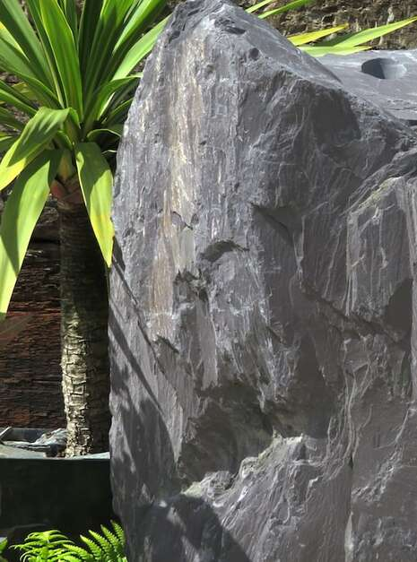 Slate Monolith SM60 | Welsh Slate Water Features 08