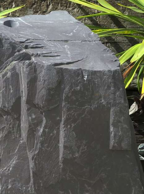 Slate Monolith SM60 | Welsh Slate Water Features 09