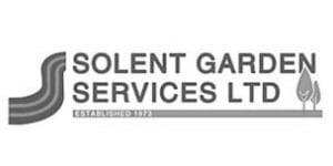 Solent Green Logo B+W | Welsh Slate Water Features