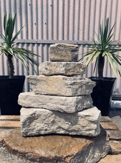 Stone Stack Water Feature SS2