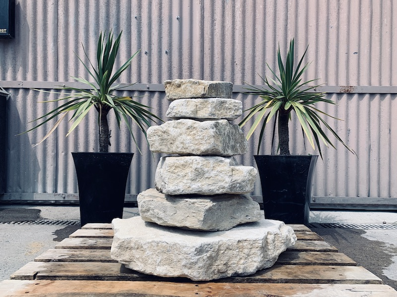 Stone Stack Water Feature SS3 2