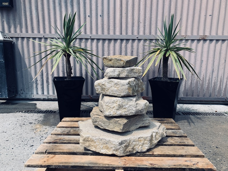 Stone Stack Water Feature SS3