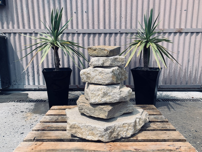 Stone Stack Water Feature SS3 5