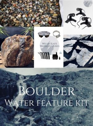 Boulder Water Feature Kit | Welsh Slate Water Features