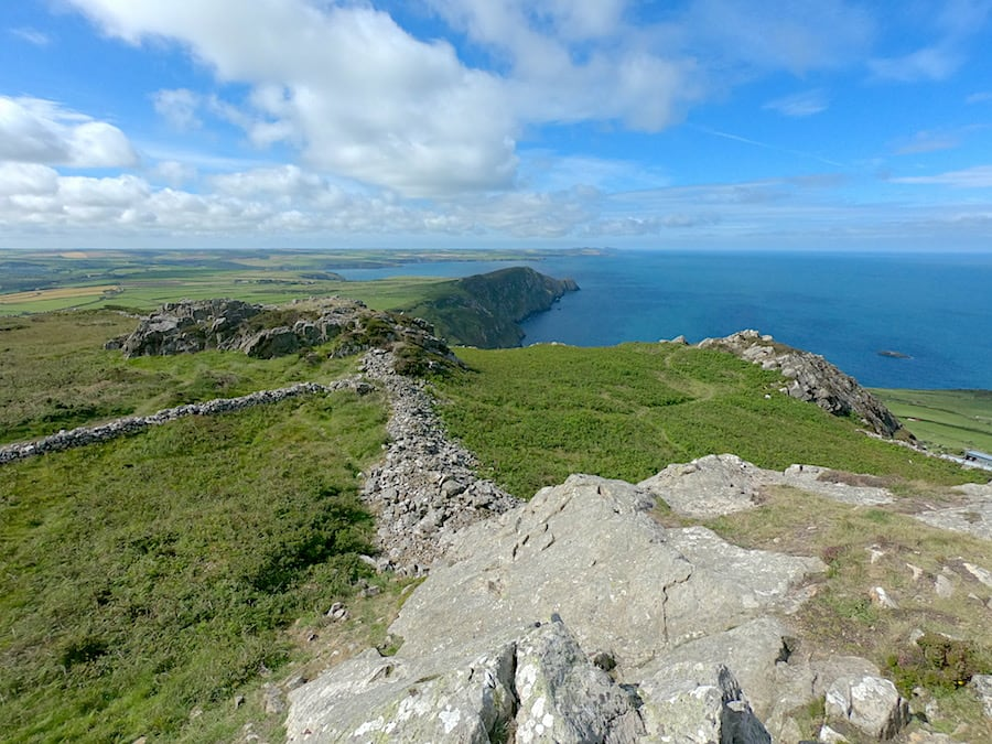 Garn Fawr coastal view to the south | Welsh Slate Water Features
