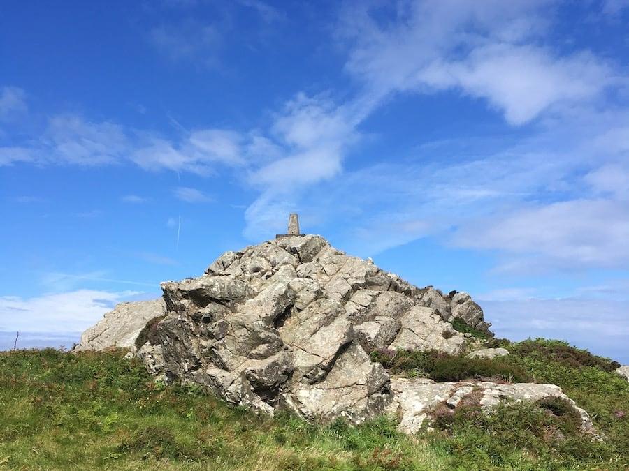 Garn Fawr summit rock pile | Welsh Slate Water Features