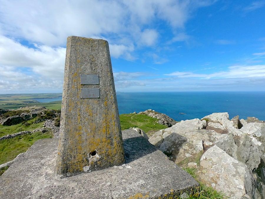 Garn Fawr trig point | Welsh Slate Water Features