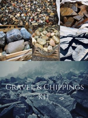Gravel and Chippings Kit | Welsh Slate Water Features