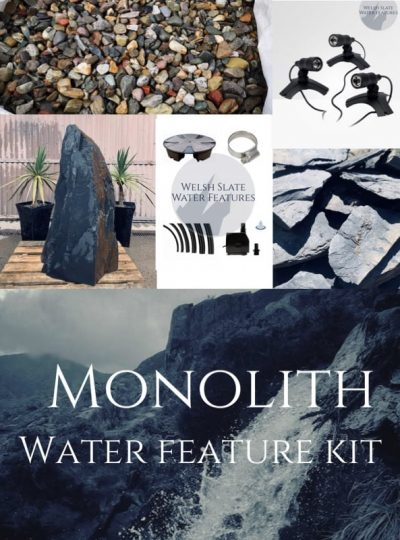 Monolith Water Feature Kit | Welsh Slate Water Features