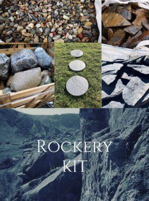 Rockery Kit   Welsh Slate Water Features