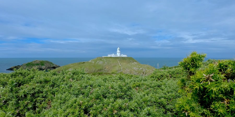 Strumble Head Lighthouse | Welsh Slate Water Features