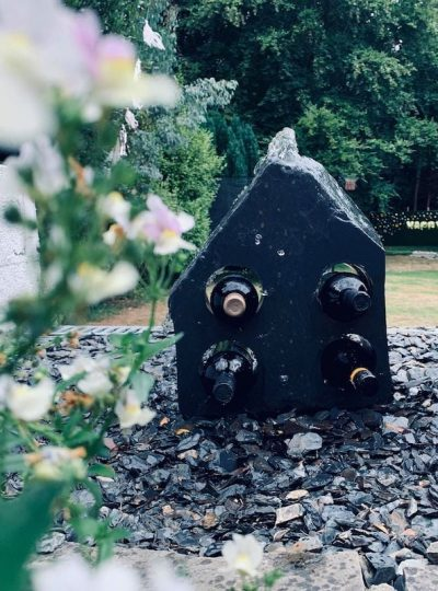 Welsh Wine Week Wine Rack | Welsh Slate Water Features