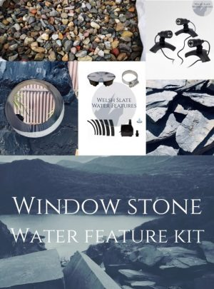 Window Stone Feature Kit | Welsh Slate Water Features