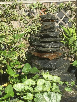 BD Slate Pyramid Water Feature
