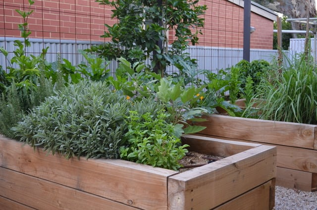 How To Make Raised Vegetable Beds | Welsh Slate Water Features 04