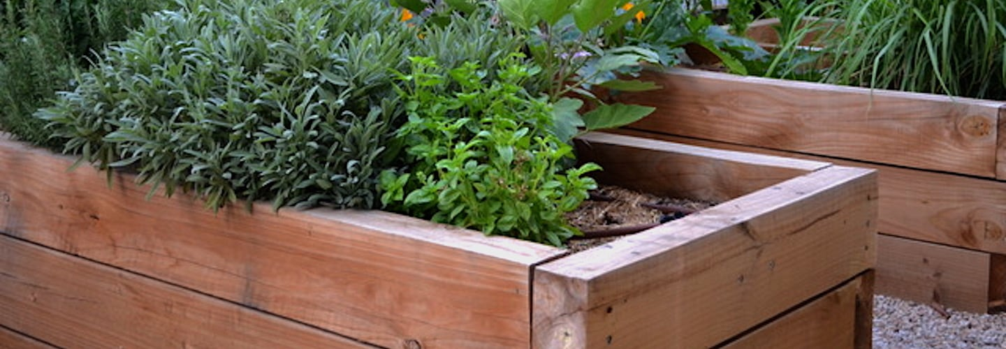How To Make Raised Vegetable Beds | Welsh Slate Water Features