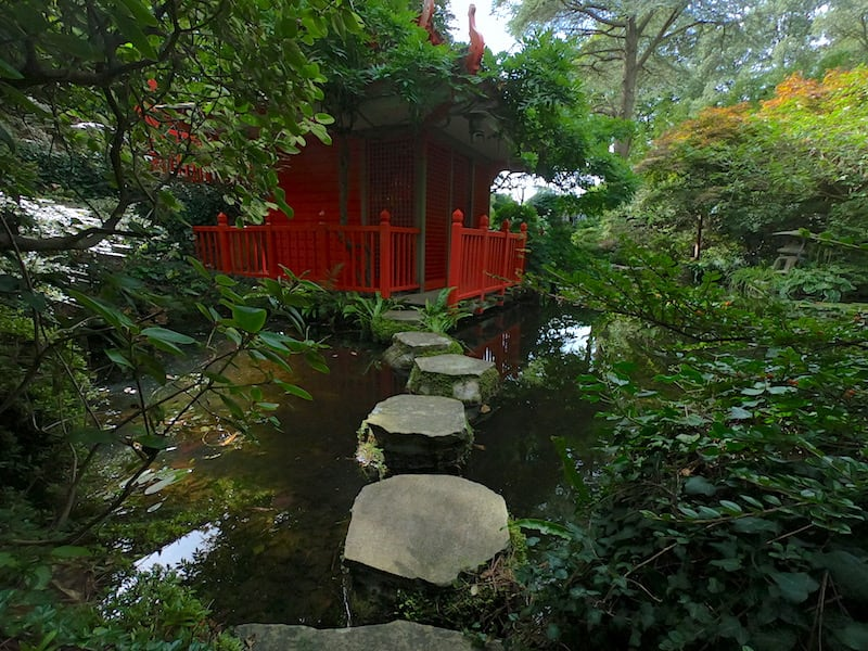 The Japanese Garden at Compton Acres 01