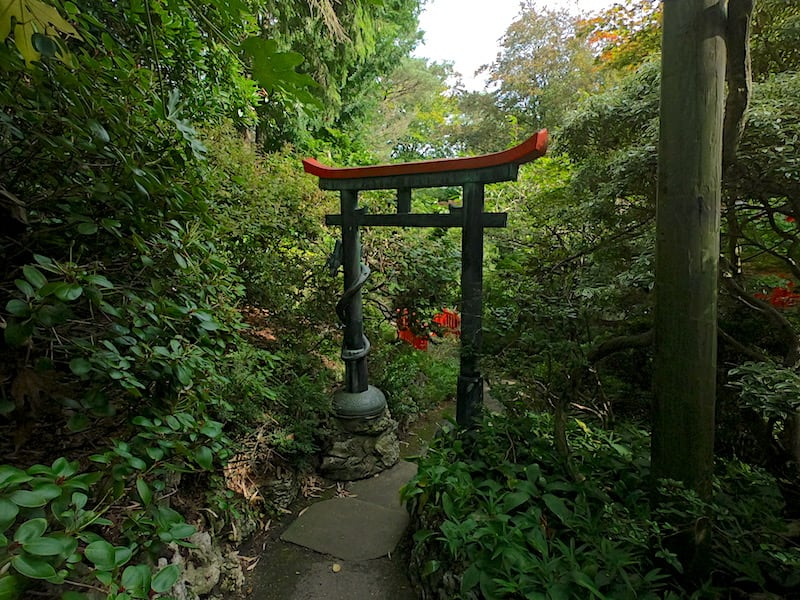The Japanese Garden at Compton Acres 04