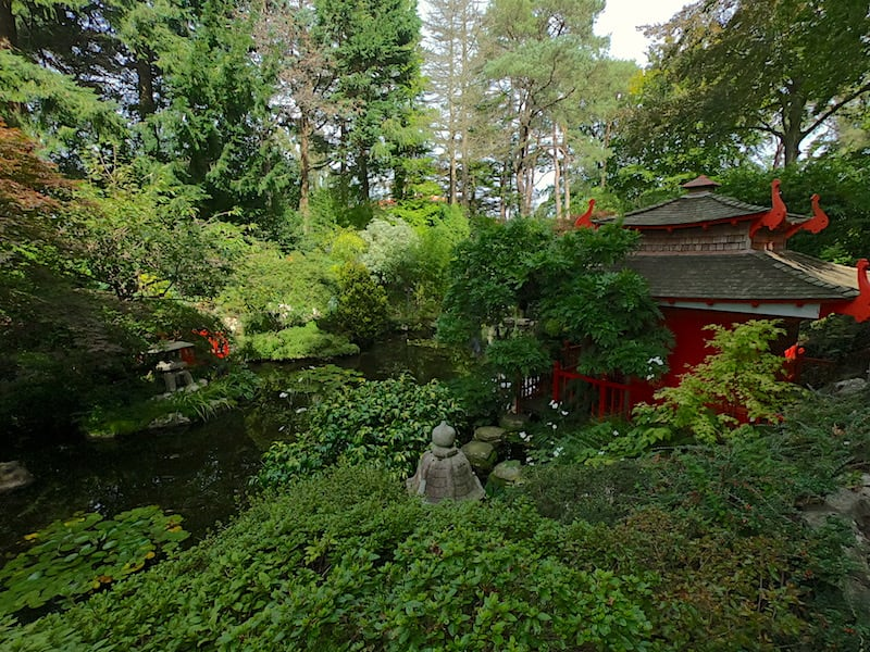 The Japanese Garden at Compton Acres 08