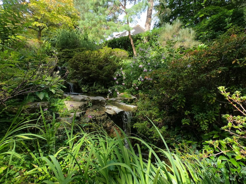 The Rock and Water Garden at Compton Acres 03 | Welsh Slate Water Features