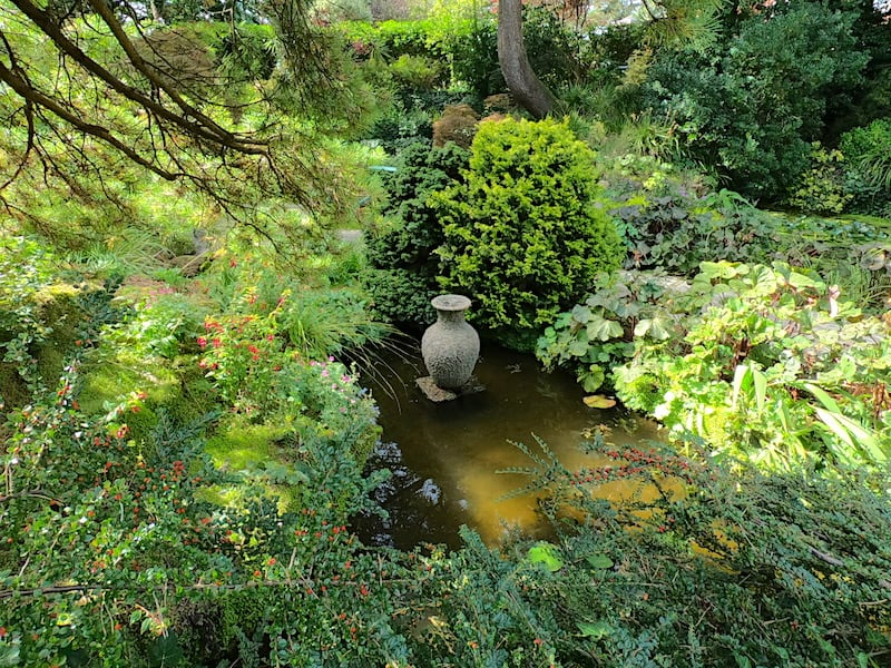 The Rock and Water Garden at Compton Acres 09 | Welsh Slate Water Features