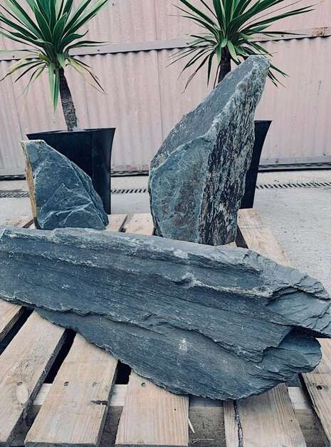 Triad of Stones TS02 | Welsh Slate Water Features 1